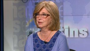 """Irene Rigau, entrevistada a """"Els matins"""" de TV3 aquest dimecres"""