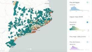 """Big Data: """"La meitat dels catalans no poden llogar un pis als municipis de la costa"""""""