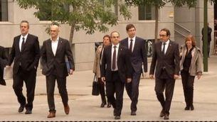 La fiscalia vol presó incondicional per als consellers de Puigdemont a l'Audiència, eludible per a Vila