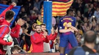 Imatge de:Dembélé triomfa. Resum del Barça - Vila-real