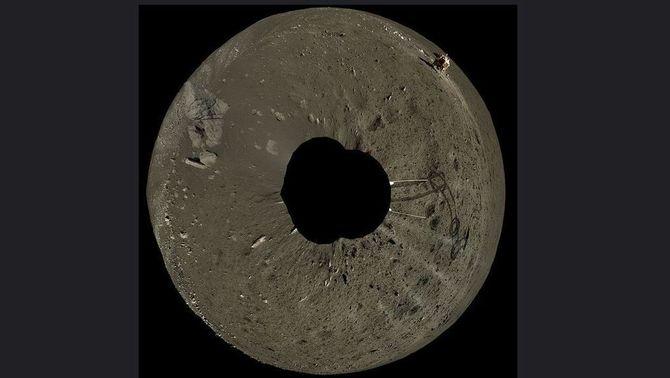El vídeo de l'arribada a la cara oculta de la Lluna