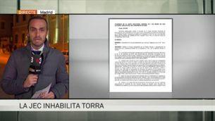 La Junta Electoral Central inhabilita Quim Torra