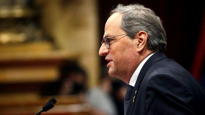 La JEP retira la credencial de diputat a Quim Torra i nomena Ferran Mascarell