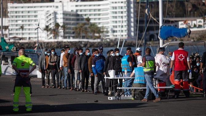 Les Canàries: solidaritat, neguit i la por de ser la nova Lesbos