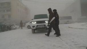 A Sibèria protesten a 44 graus sota zero