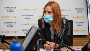 La candidata d'En Comú Podem, Jéssica Albiach