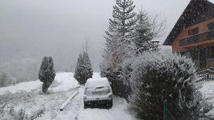 La nevada del darrer dia de l'hivern