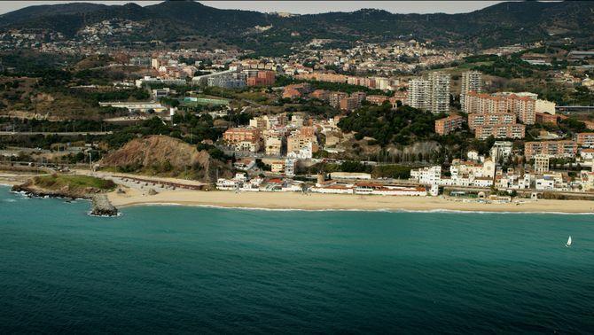Imatge de la costa del Maresme