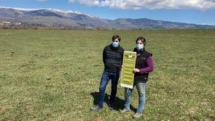 Els pagesos repartiran cartells sobre normes de convivència