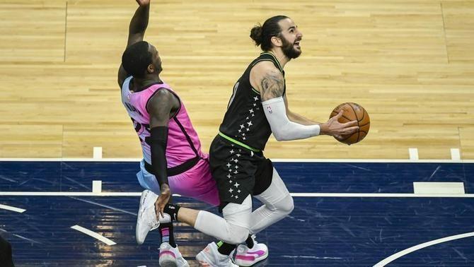 Ricky Rubio destaca en la victòria dels Timberwolves contra els Heat (119-111)