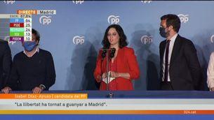 El discurs de Díaz Ayuso després d'arrasar a les eleccions a la Comunitat de Madrid