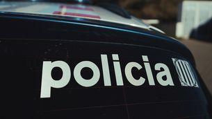 Detall de vehicle dels Mossos d'Esquadra
