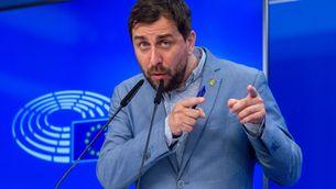 L'eurodiputat de Junts Toni Comín al Parlament Europeu (Europa Press/Jan van de Vel)