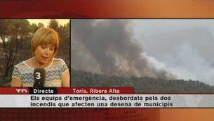 Fora de control els incendis del País Valencià
