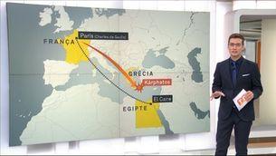 Un avió d'Egyptair cau al mar amb 66 persones a bord