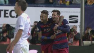 El Barça arrodoneix el doblet al Calderón