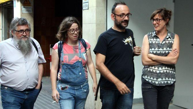 """La CUP reclama celebrar un referèndum unilateral d'independència """"durant aquest curs polític"""""""