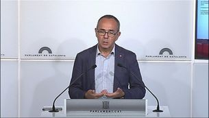 L'oposició valora el discurs de Puigdemont