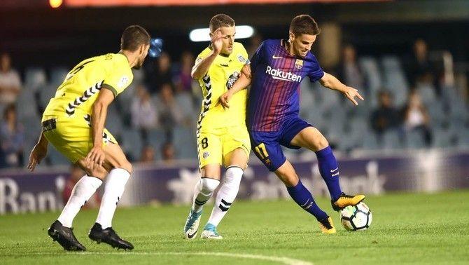 Íñigo Ruiz de Galarreta abandona la concentració del Barça B per tancar la seva sortida a la UD Las Palmas