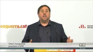 ERC referma el compromís amb la construcció de la República catalana i fa una crida a la unitat