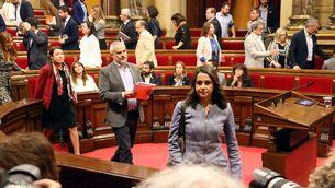 Inés Arrimades al Parlament de Catalunya (ACN)
