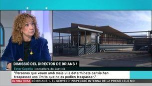 """Ester Capella: """"Josep Font plega, però no renunciem a les polítiques que ha desenvolupat"""""""