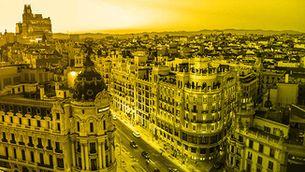 Imatge de la Gran Via de Madrid