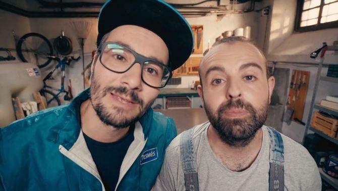 """Els """"bricoheroes"""" del programa: en Jair i en Peyu"""