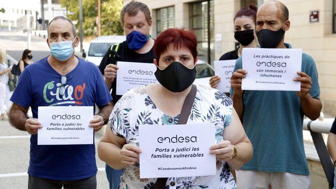 Primera sentència per impagament a Endesa: obliga una persona vulnerable a pagar el deute