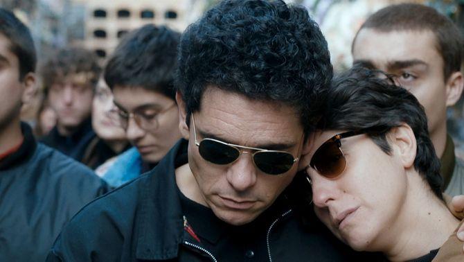 """Pablo Molinero (Guillem Agulló) i Gloria March (Carme Salvador), a """"La mort de Guillem"""""""