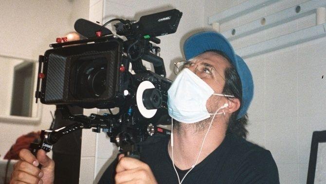"""Un càmera durant el rodatge d'""""X, la sèrie"""""""