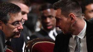 L'últim missatge de Messi a Bartomeu