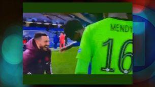 """L'""""alegria"""" de Hazard després de l'eliminació del Madrid a la Champions"""