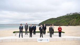 El G-7 aposta per un pla d'infraestructures milionari per frenar la Xina
