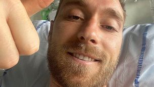 El missatge esperançador de Christian Eriksen després de patir el desmai