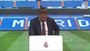 Sergio Ramos s'acomiada del Madrid entre llàgrimes