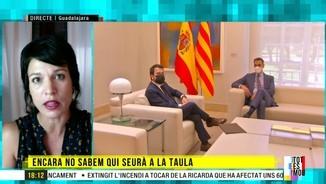 """Imatge de:Beatriz Talegón: """"Pedro Sánchez vol demostrar a Catalunya que no es pren la taula de diàleg seriosament"""""""