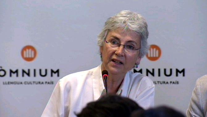 Muriel Casals, presidenta d'Òmnium Cultural