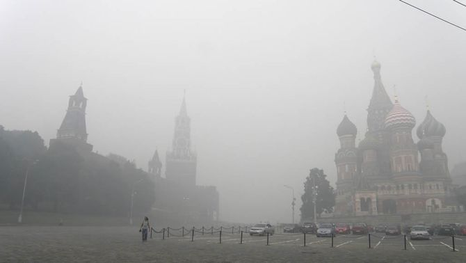 Mig miler d'incendis encara cremen els boscos de Rússia i un dels focs amenaça la central nuclear de Sarov