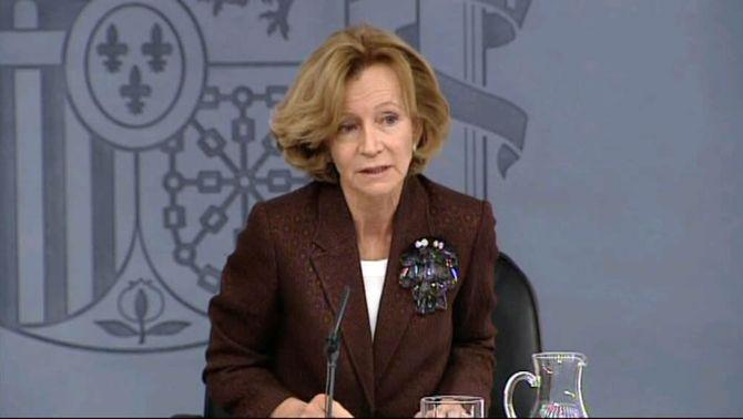 Salgado insinua que Merkel té part de culpa de les turbulències a la zona euro