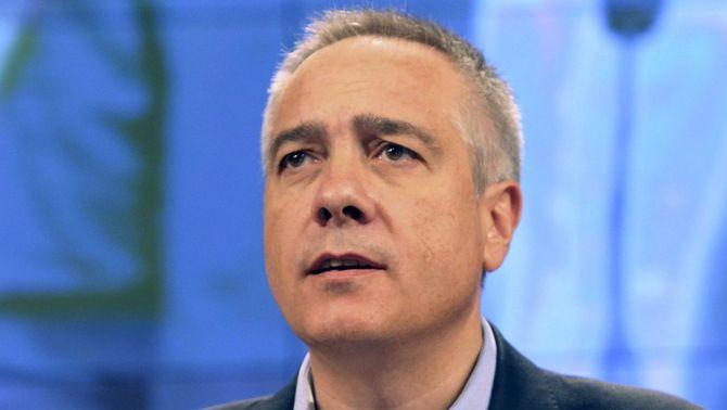 Pere Navarro, durant el Consell Nacional que el va escollir candidat (Foto: EFE)