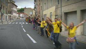 Les millors imatges de la Via Catalana