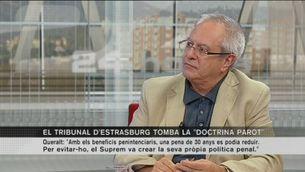 """Entrevista al catedràtic Joan Josep Queralt sobre la """"doctrina Parot"""""""