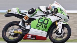 Niccolò Antonelli (KTM) al circuit d'Assen (Holanda). (Foto: Reuters)