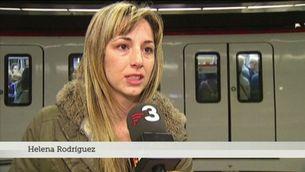 Menys passatgers al metro en l'inici de la vaga parcial