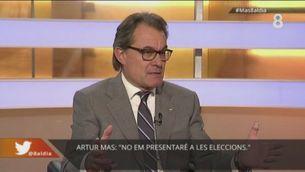 Artur Mas disposat, Junqueras, no