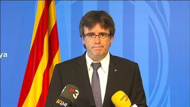 """Puigdemont: """"Europa ha de fer una reflexió profunda dels seus errors"""""""