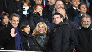 Sarkozy al Camp Nou