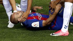 Doble lesió de Mascherano