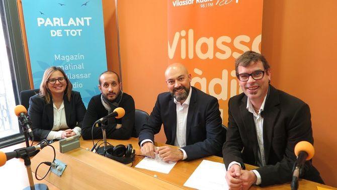 Els titulars informatius de Catalunya Ràdio, a Vilassar Ràdio